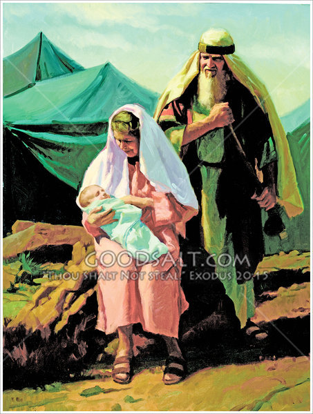 A Baby for Abraham and Sarah