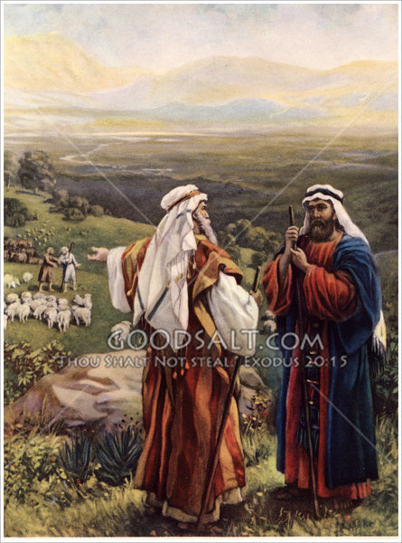 abraham and lot Abraham coloring pages abraham is one of the most important characters in all of the bible abraham coloring page – abram and lot separate.