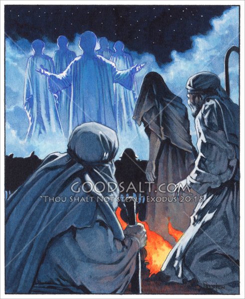 Announce Jesus Birth – Angels Announce the Birth of Jesus