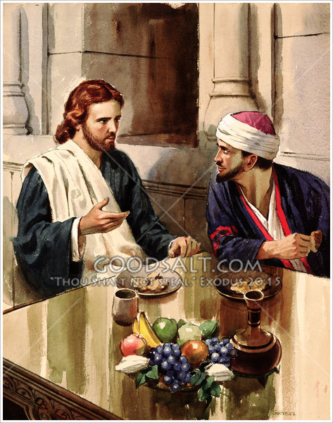 Jesus And Zaccheus
