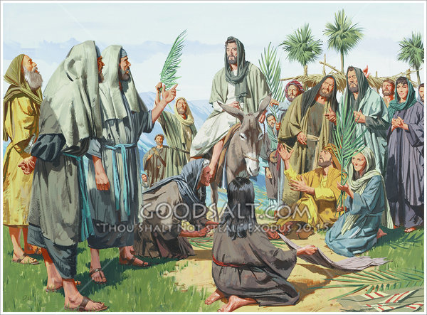 Jesus Answers The Pharisees