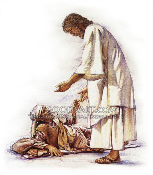 clipart of jesus healing - photo #42