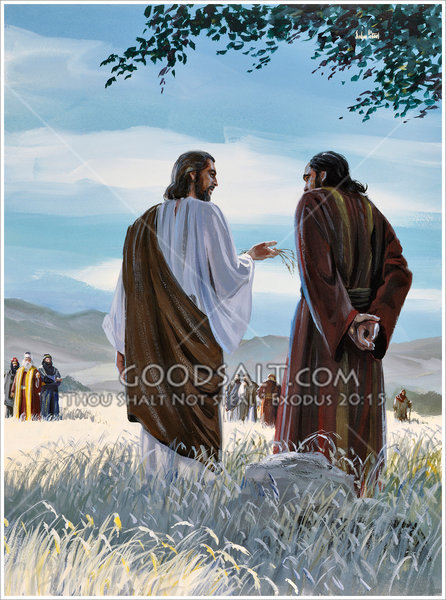 Jesus Teaching About The Sower