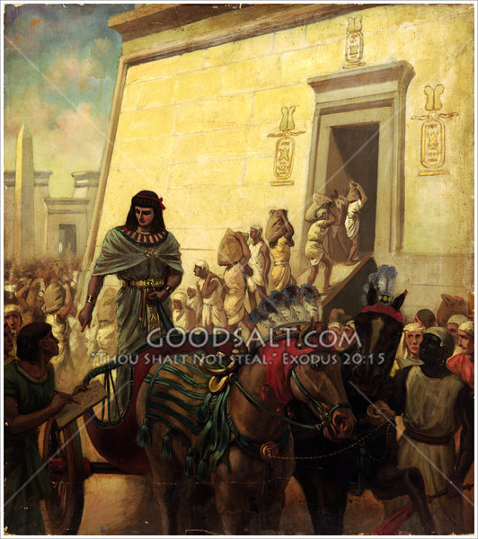 Joseph Ruler In Egypt