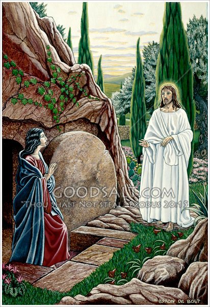 Mary Finds Jesus After The Resurrection
