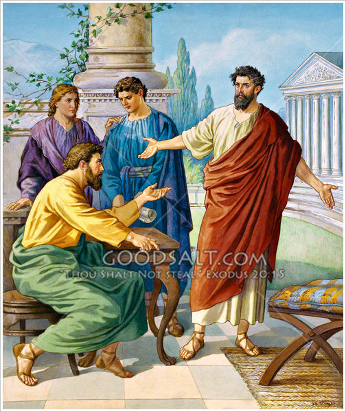 barnabas and paul relationship with titus