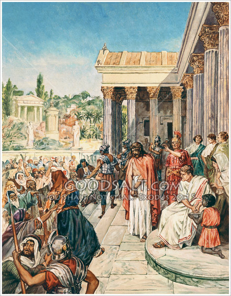 """Pilate asked Jesus, """"What is Truth?"""""""