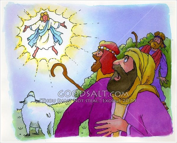 and Angels – Angels Announce the Birth of Jesus