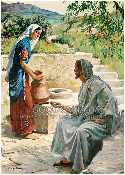 Lds Women Drink The Water From The Well